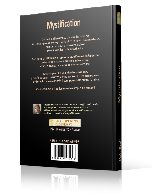 Mystification - M.A. Graff - Editions Ramsès VI